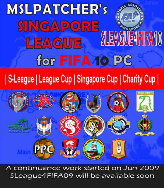 Singapore League for FIFA 10 game « ASEAN Leagues for FIFA09 ...